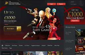 Hippodrome Casino website