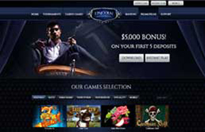 Lincoln Casino website