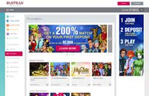 Slots.lv website