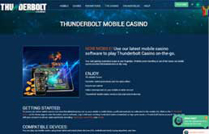 Thunderbolt Casino website